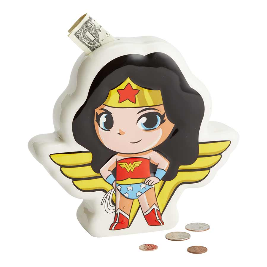 DC SuperFriend Wndr Woman Bank
