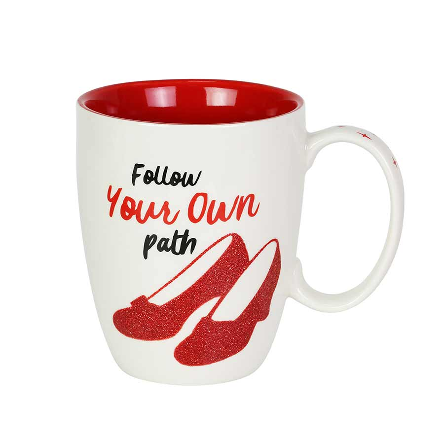 Wizard of Oz Ruby Glitter Mug