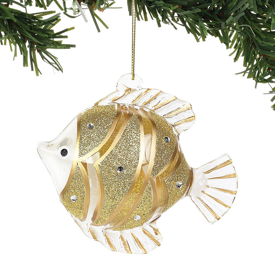 COAST Gold Fish Ornament