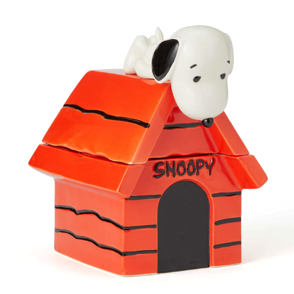 Snoopy on top of house Cookie