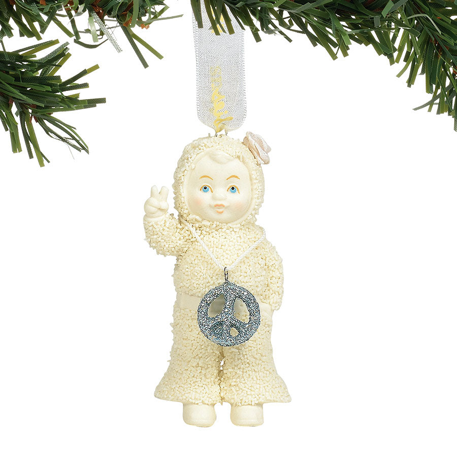 Peace & Love Ornament