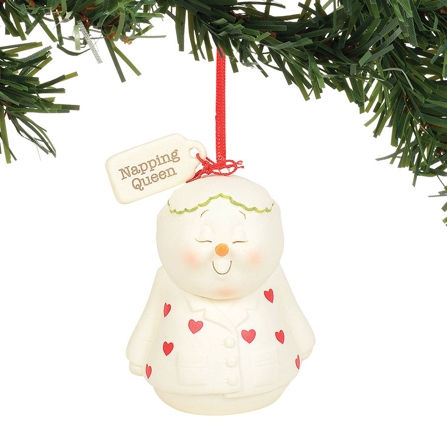 Napping Queen Ornament