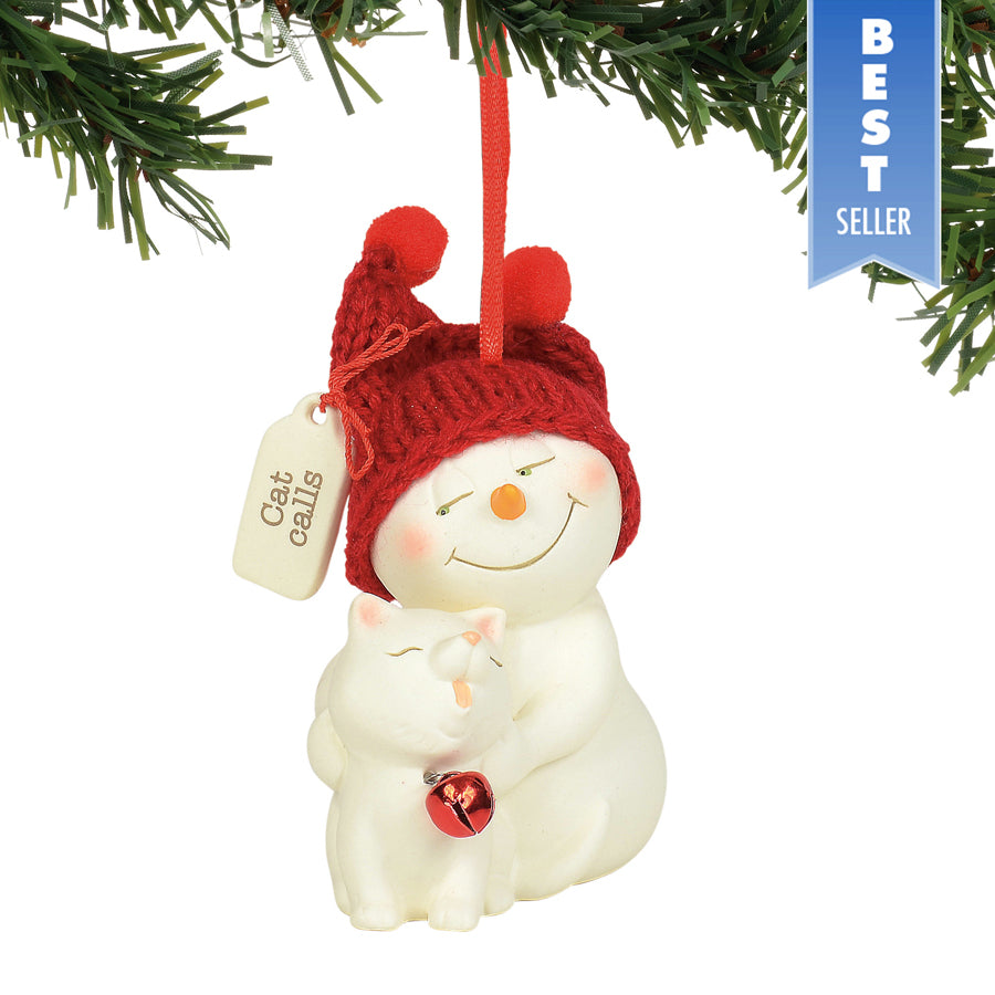 Cat Calls Ornament