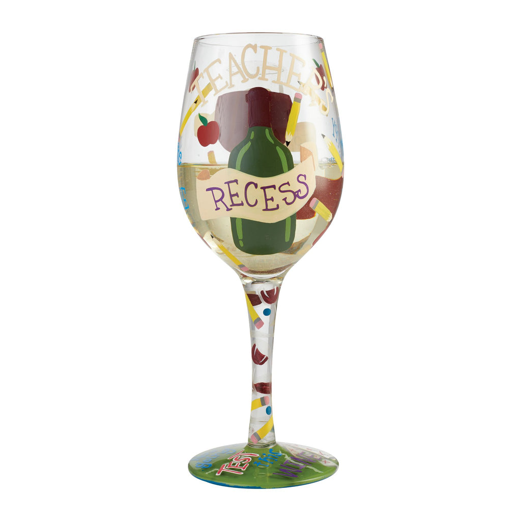 Wine Glass Teacher's Recess