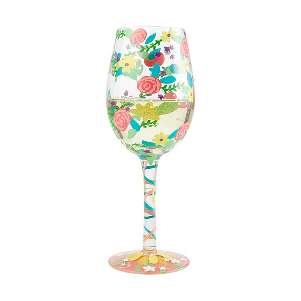 Wine Glass Spring Floral 2019