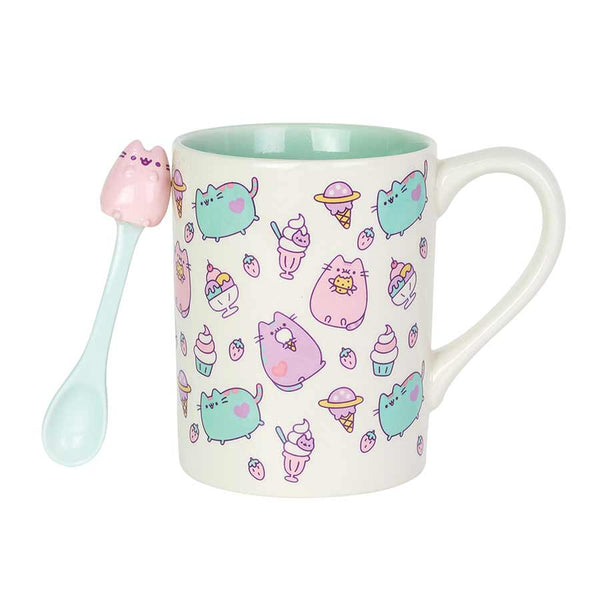 Pusheen Sweats Mug with Spoon