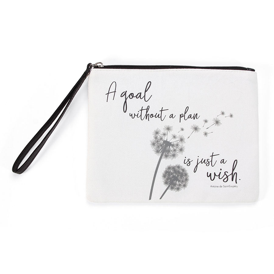 QUOTE Wish Wristlet Pouch