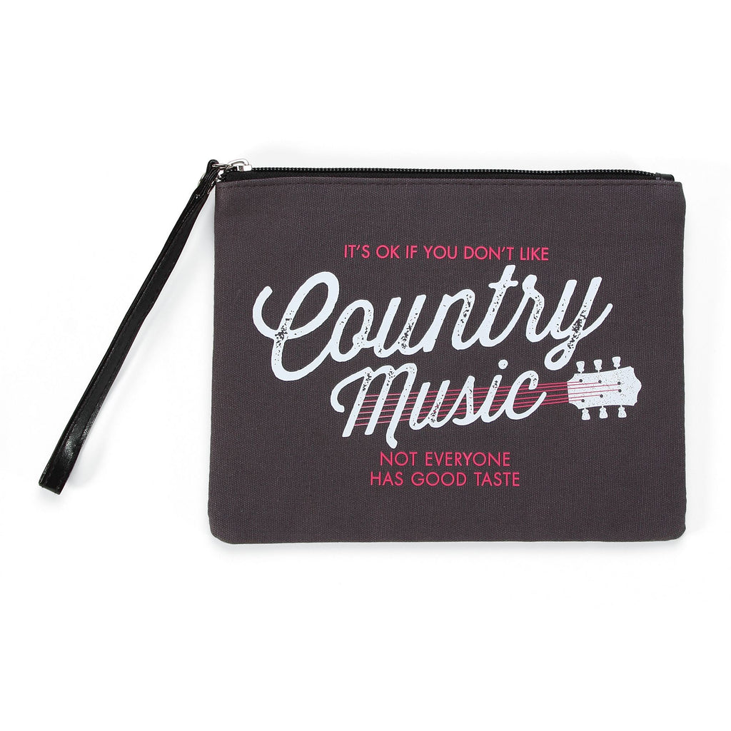 QUOTE Music Wristlet Pouch