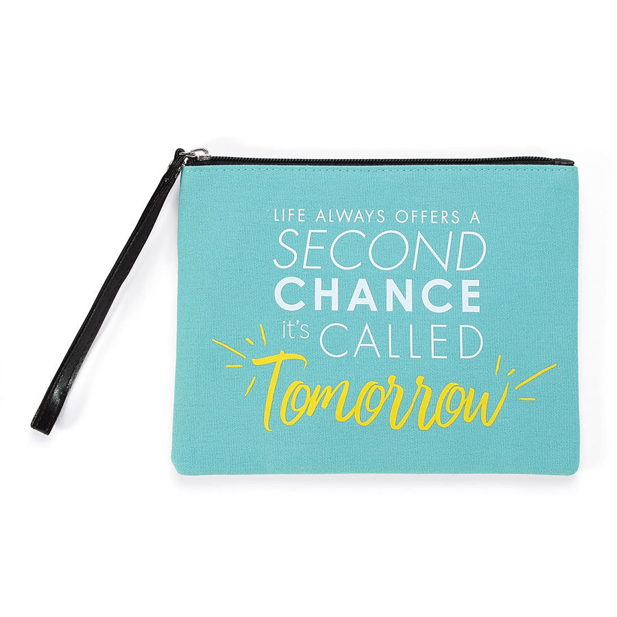 QUOTE Chance Wristlet Pouch