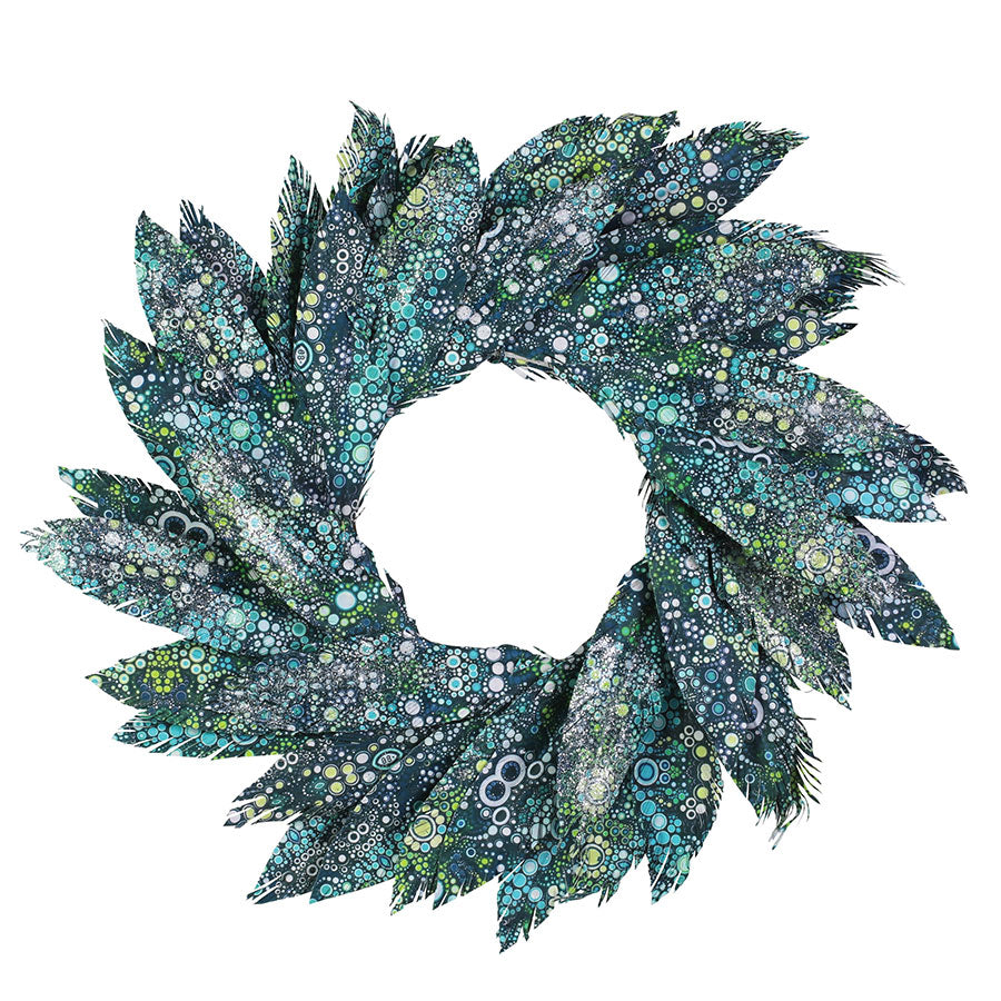 PEARL BAY WATERCOLOR WREATH