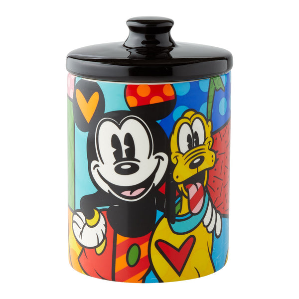 Pluto Canister Cookie Jar