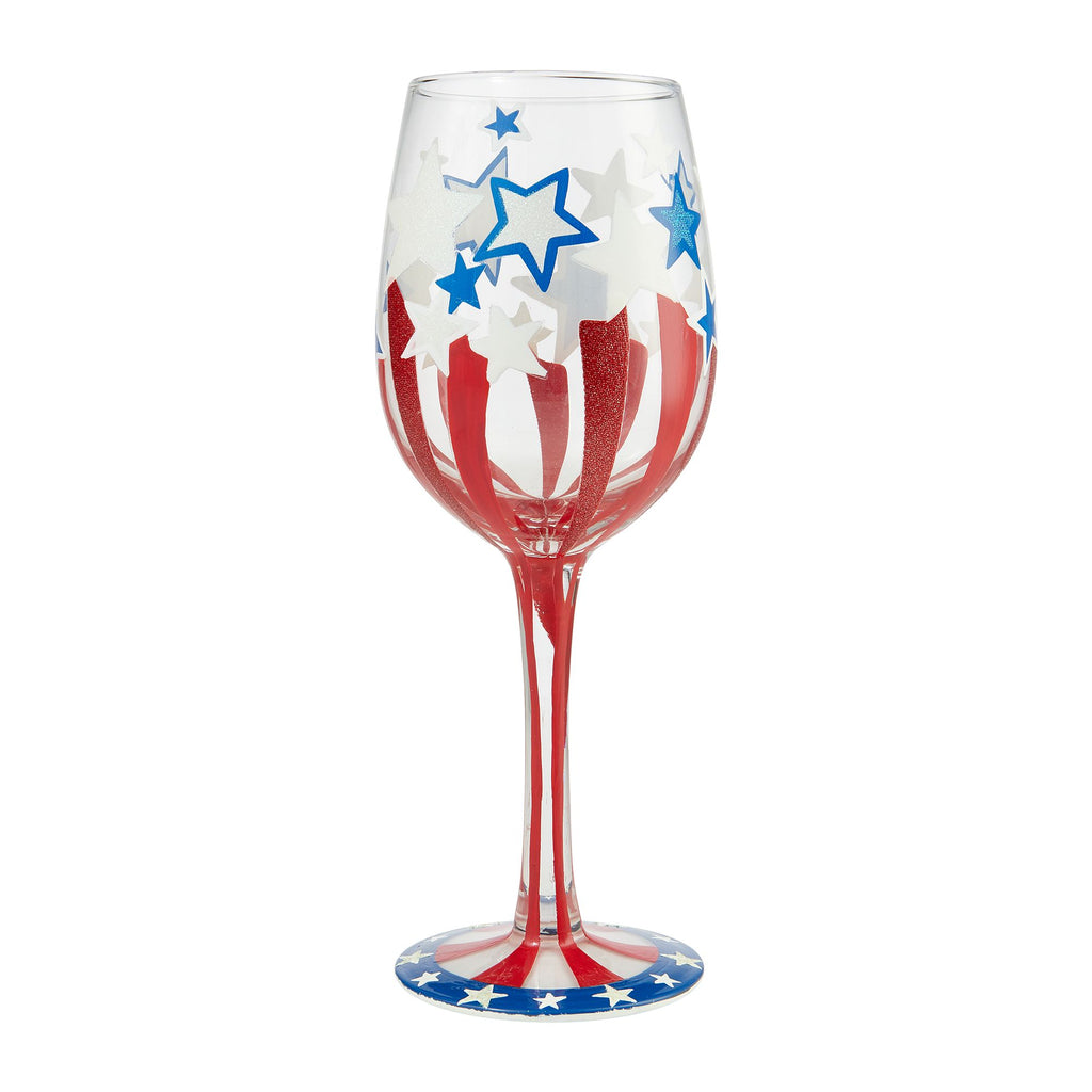 Wine Glass Land of the Free