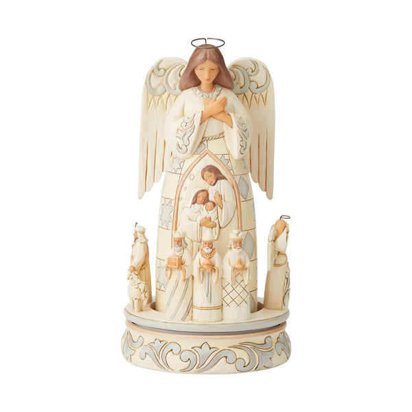Woodland Angel/Nativity Scene
