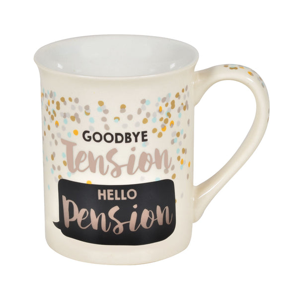 Retired Pension Heat Mug