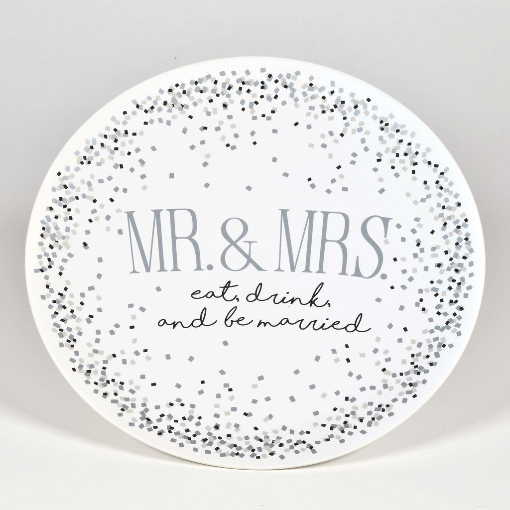 Mr Mrs Large Platter