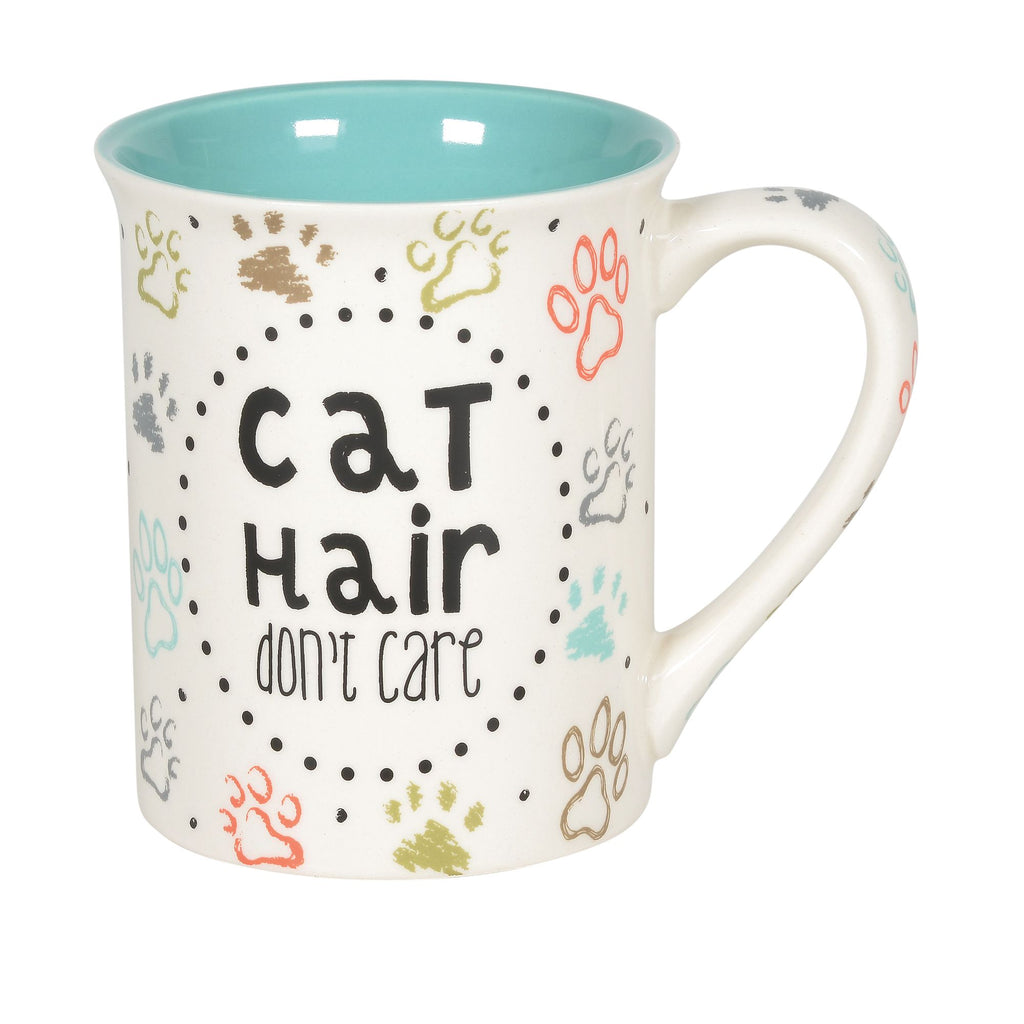 CAT HAIR DON'T CARE MUG