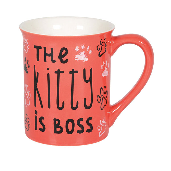 KITTY IS BOSS MUG