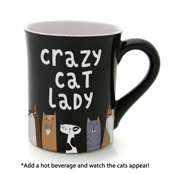 CRAZY CAT HEAT ACTIVATED MUG