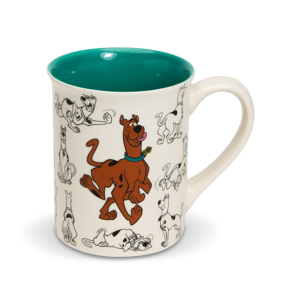 Scooby Doo Model Sheet Mug
