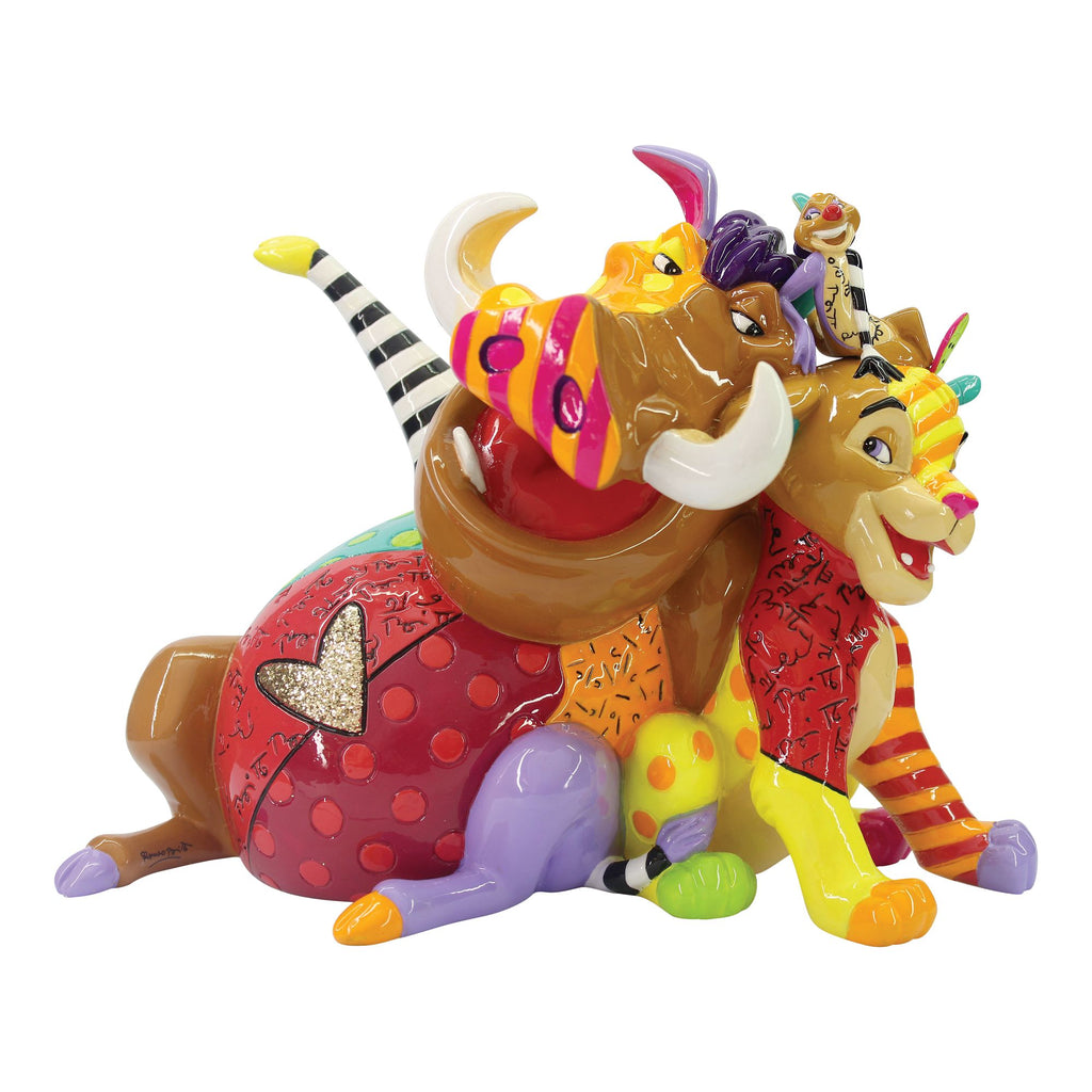 "Simba, Timon & Pumba 5.87"" Fig"