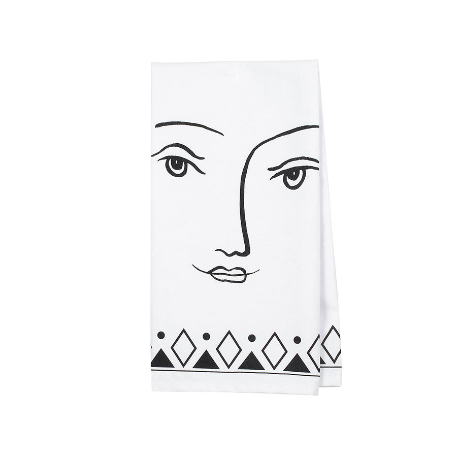 Pen&Ink Female Tea Towel