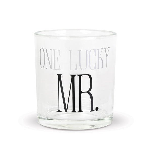 Mr. Lucky Rocks Glass