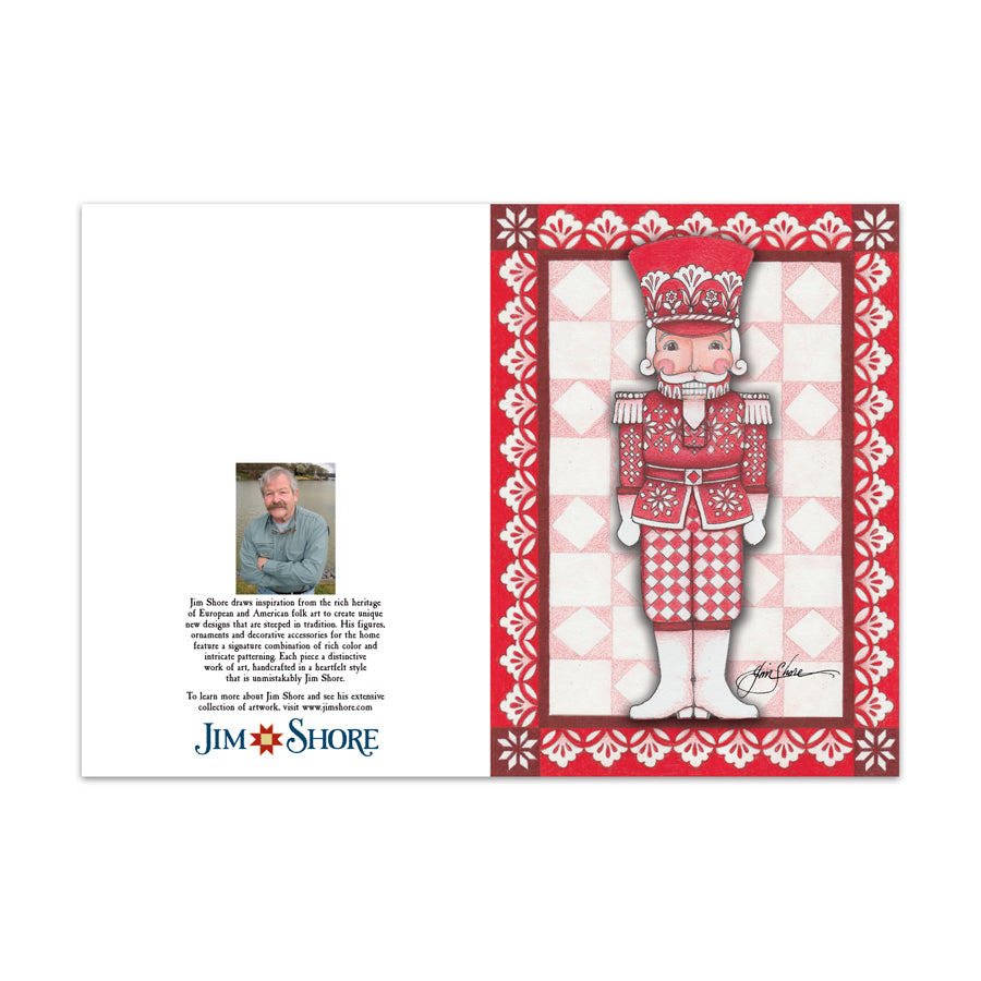 St 10 NutcrackerGreeting Cards