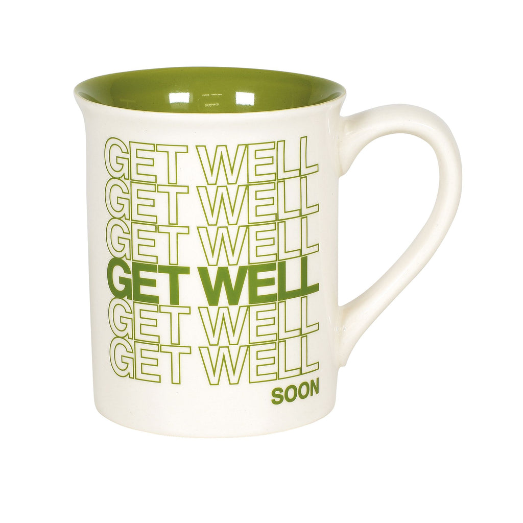 GET WELL SOON REPEAT TYPE MUG
