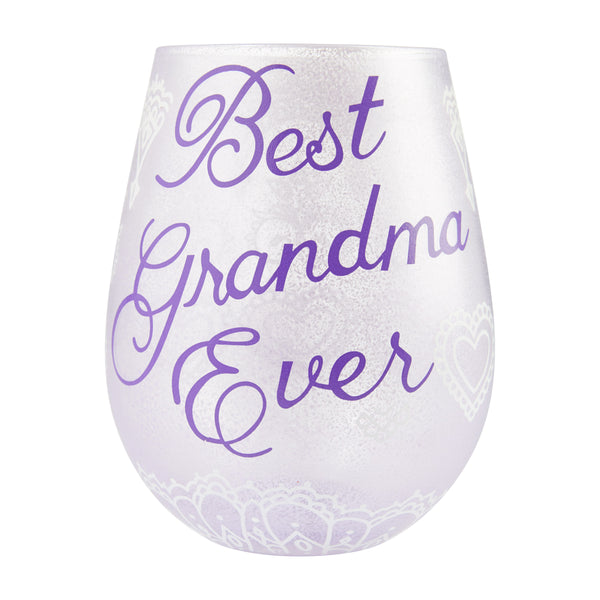 Stemless Best Grandma