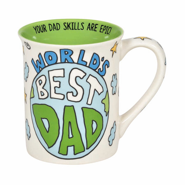 Best Dad Moon Mug