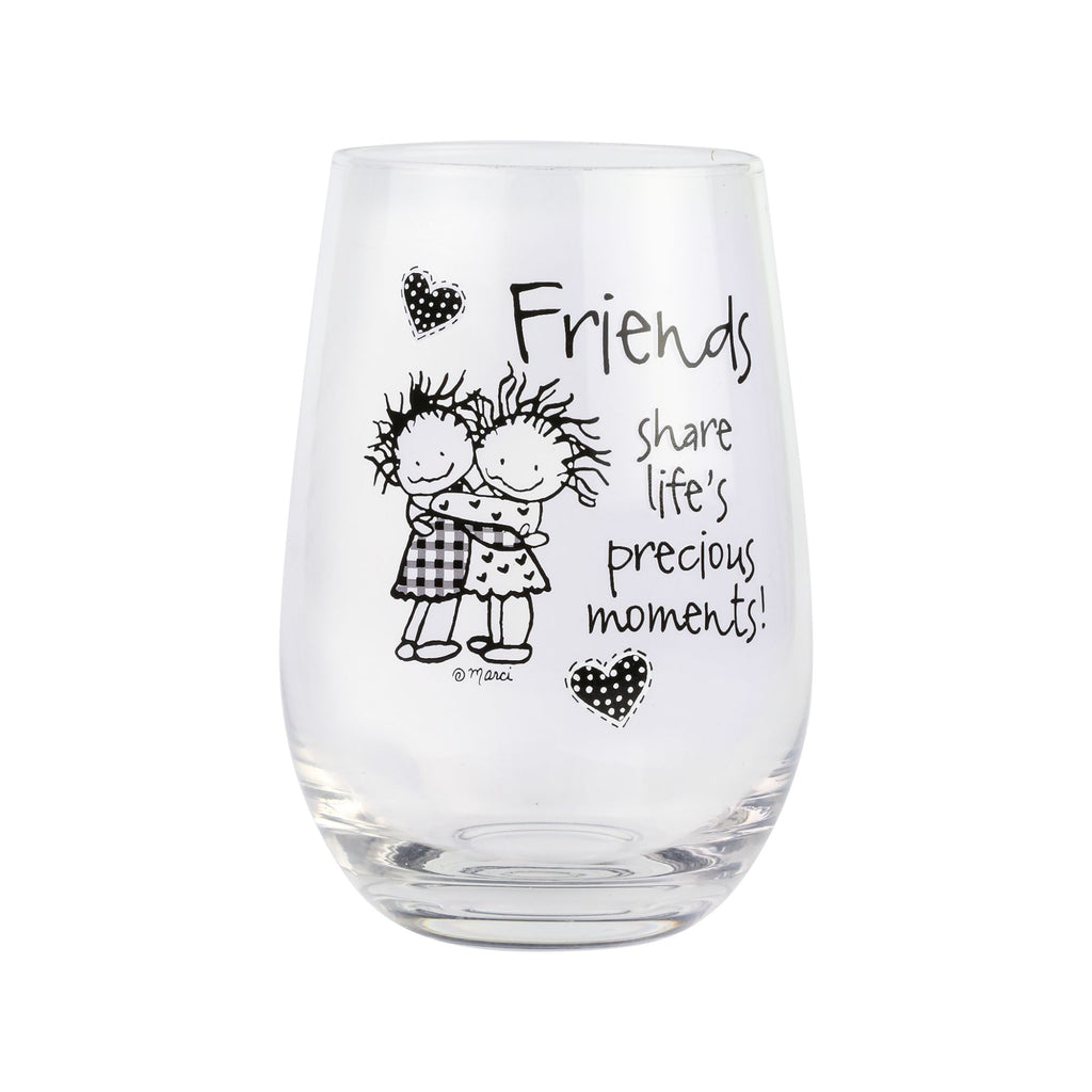 FRIENDS STEMLESS GLASS
