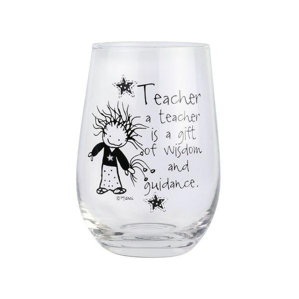 TEACHER STEMLESS GLASS