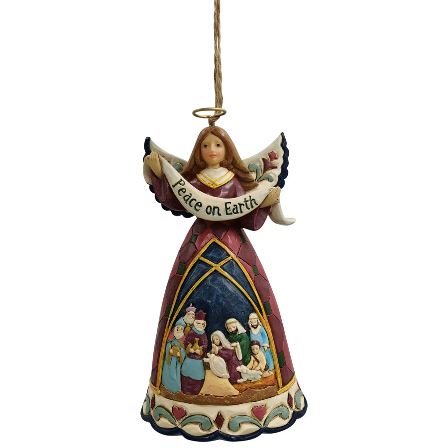Nativity Angel Ornament