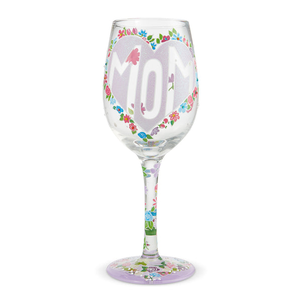 Wine Glass Mom's Love