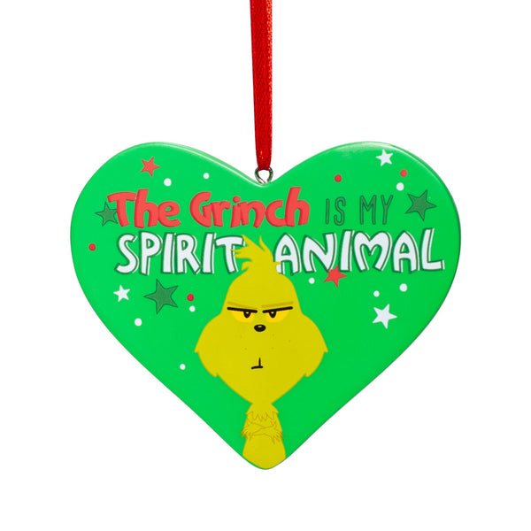 Grinch Spirit Animal Ornament