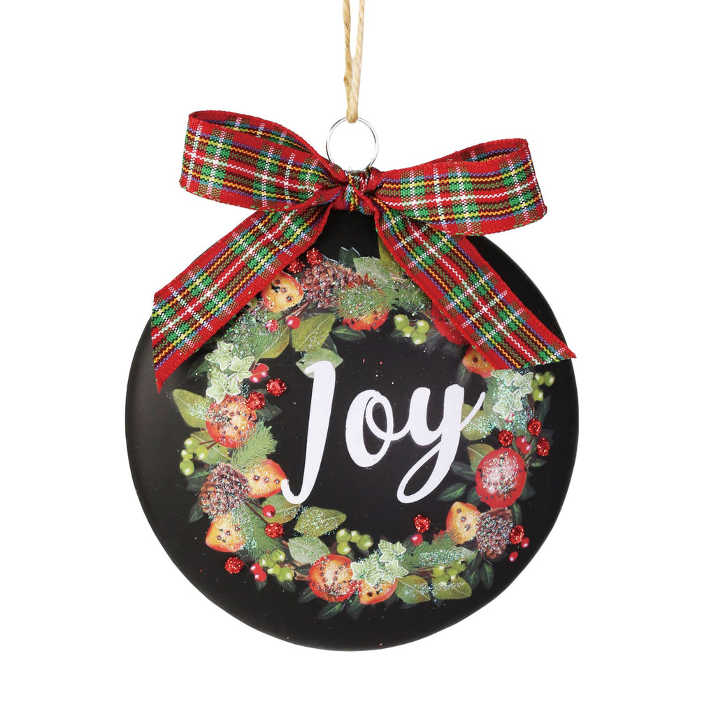 Chalkboard Wreath Ornament