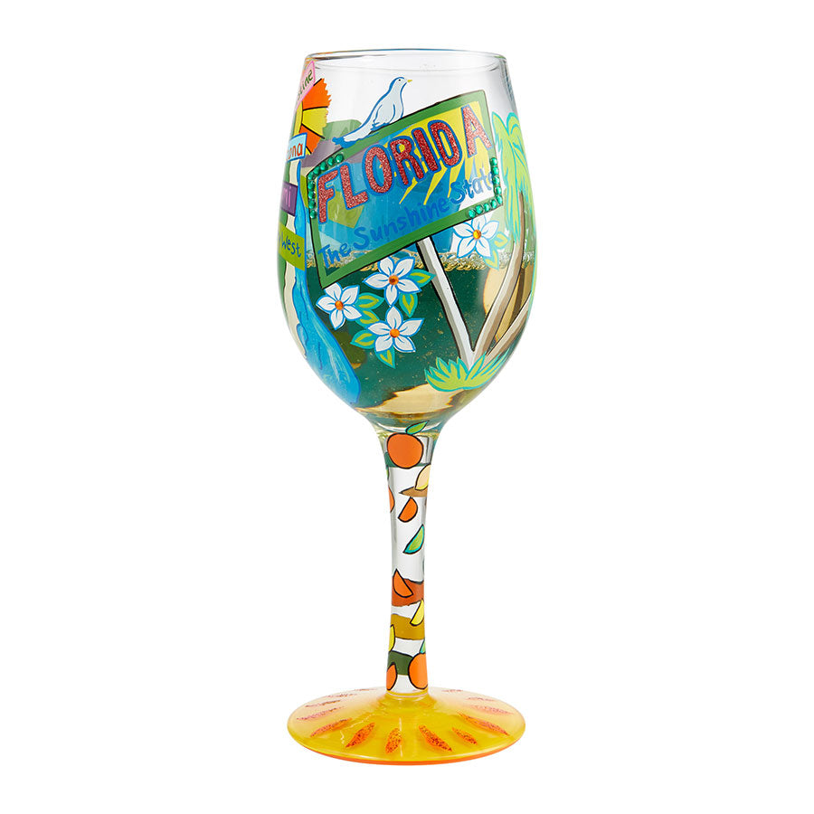Wine Glass Florida Fun