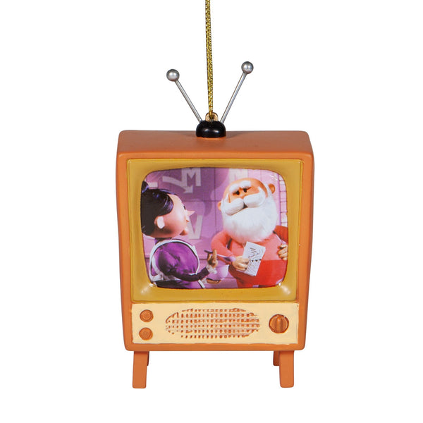 Rudolph Brown TV Ornament