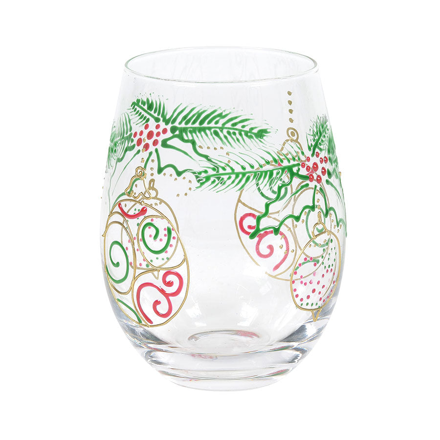 Ornaments Stemless Glass