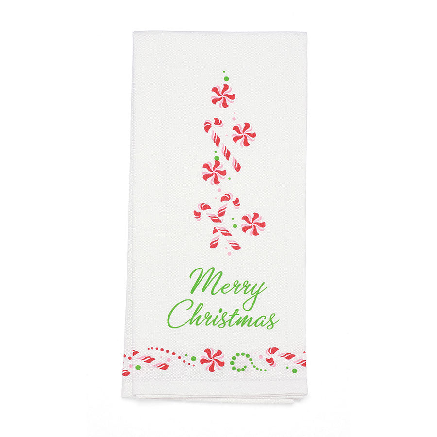 Candy Canes Bar Towel