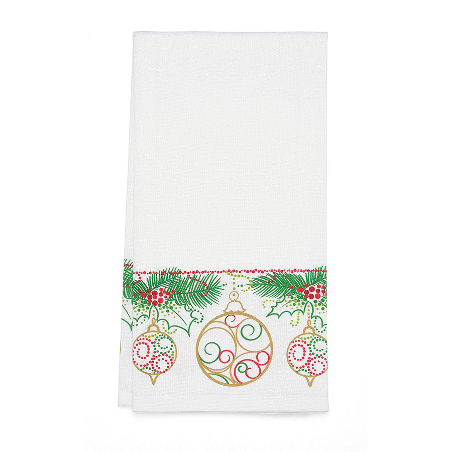 Ornaments Bar Towel