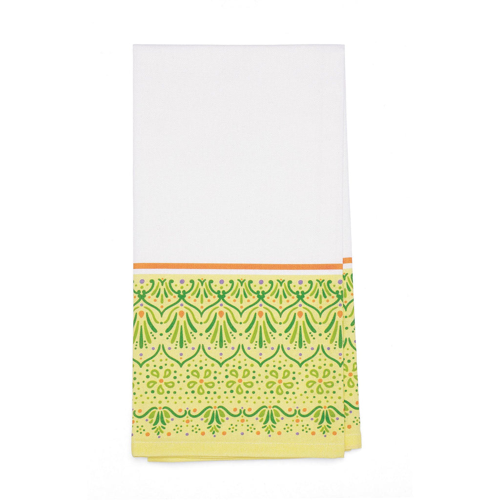 Lemon Henna Bar Towel