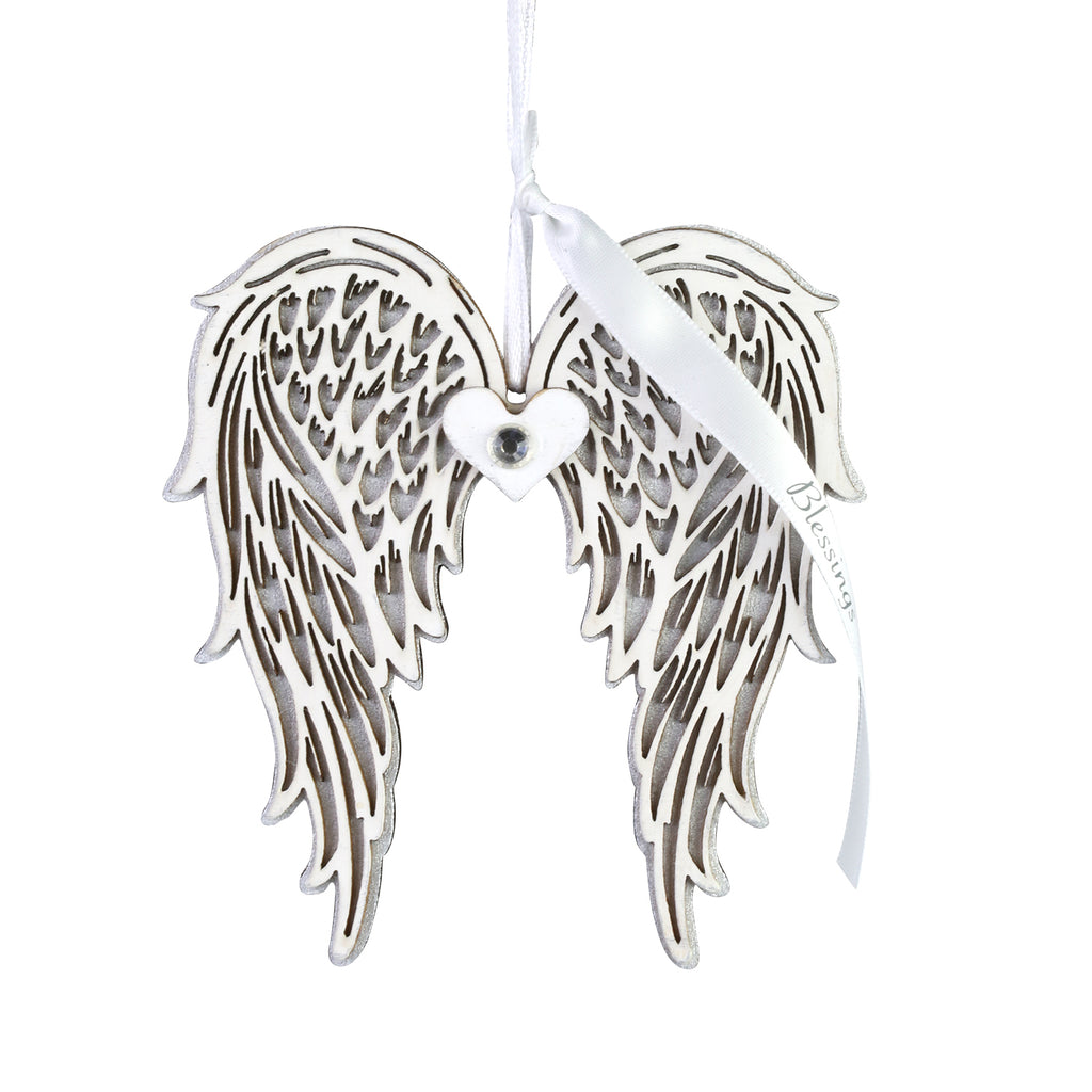 Blessings Wing Ornament