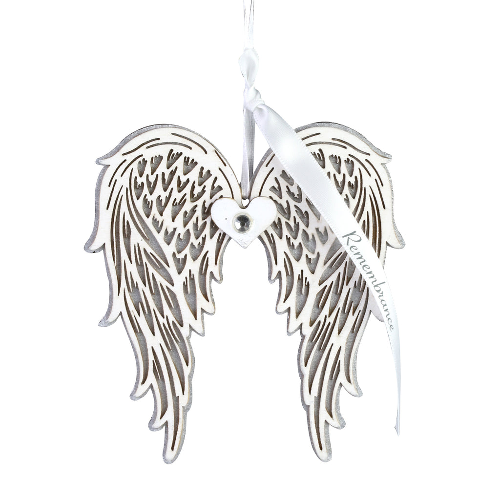 Remembrance Wing Ornament