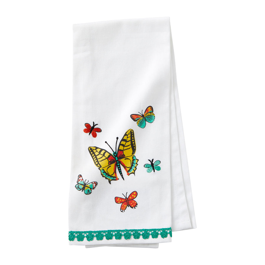 Bar Towel Butterfly