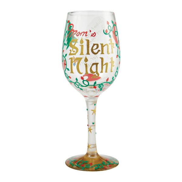 Wine Glass Mom's Silent Night