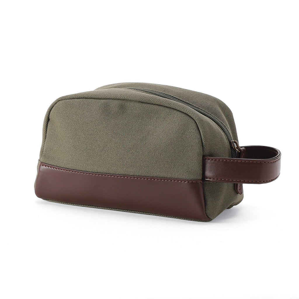 Khaki case with strap