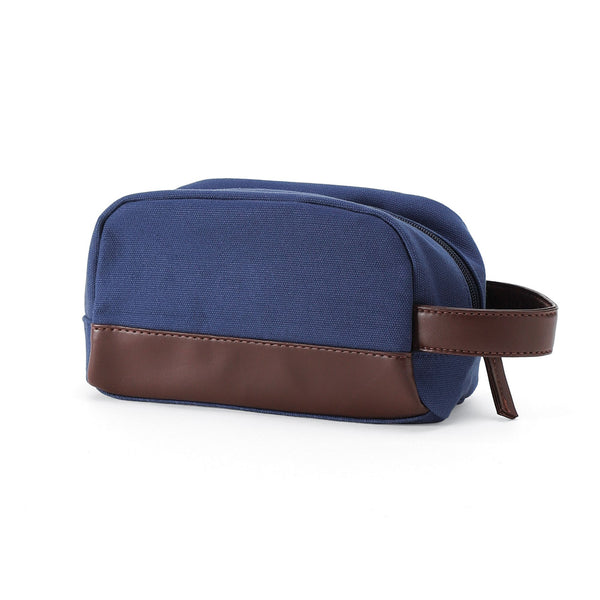 Navy case with strap