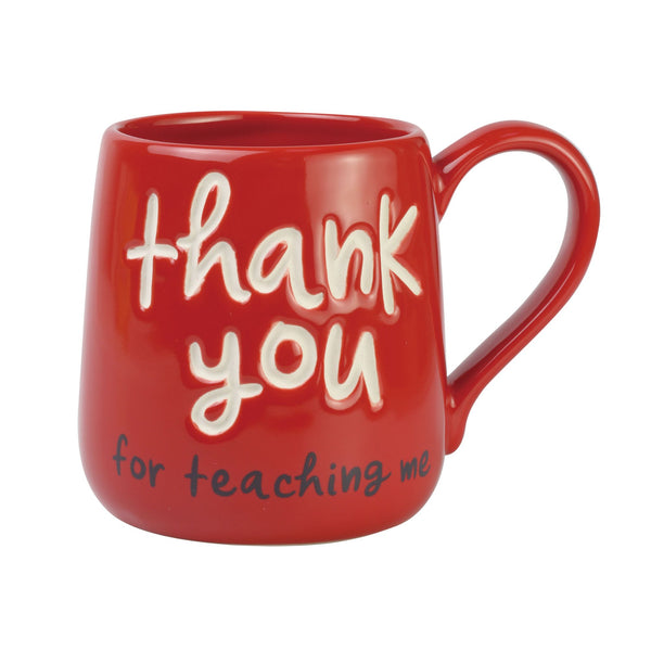 Thank You Teacher Engraved Mug