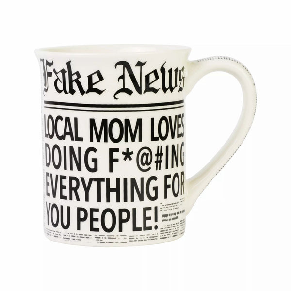 Fake News Local Mom Mug